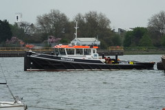 Recovery (kenjonbro) Tags: uk london greenwich tugboat tug riverthames recovery wastemanagement se10 shoalbuster coryenvironmental kenjonbro coryriverside royalgreenwichborough
