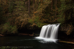 Upper Butte Creek Falls (Steven Michael Photography) Tags: oregon unitedstates waterfalls pacificnorthwest northamerica buttecreek oregonwaterfalls silvertonoregon upperbuttecreekfalls stevenmichaelphotography