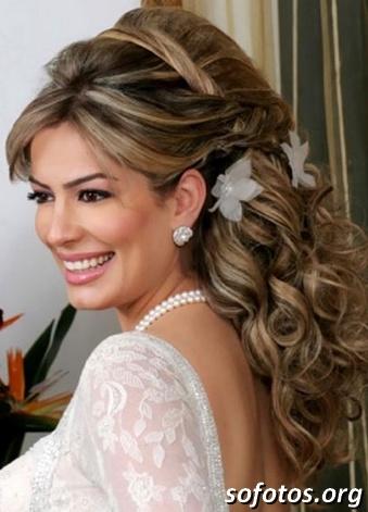 Penteado para noivas fotos
