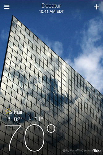 Yahoo! Weather (Decatur)