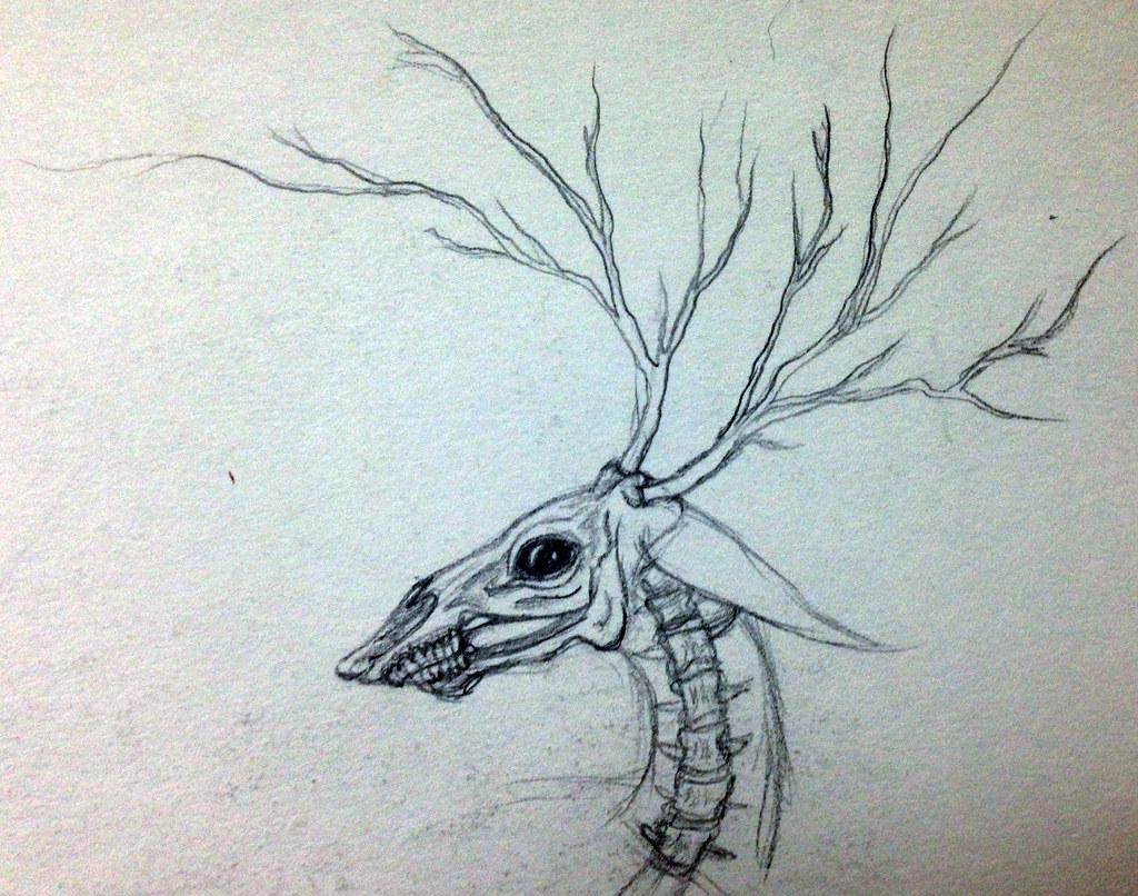 Line Drawing Deer : Deer svg season hunting dxf for