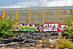 fosil suer (wheredyougetdemshoes) Tags: train paint pacific union spray freight fosil suer