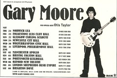 May 2007 Gary Moore/ Otis Taylor UK Tour (NYCDreamin) Tags: uktour otistaylor garymoore may2007
