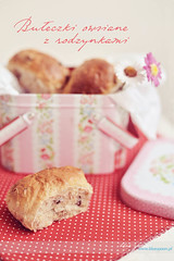 (Blue Spoon) Tags: baking yummy raisins homemade roll rolls yeast