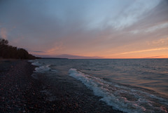 Looking South (schandle) Tags: sunset michigan lakesuperior calumet waterworkspark