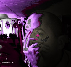 outside fade away (R-Pe) Tags: life blue red white black rot eye art robert water coffee caf smile face breakfast night train canon square photo essen gesicht wasser noir day foto mask nacht live tag fine wiese kaffee zug security ferrari bleu peter hut trainstation rosen blau augen lachen trinken bahn wald schwarz chai figur acryl leben maske pastell masken ingwer larve blaw bahnstation 1764 tschai rpe rbi 1764org www1764org