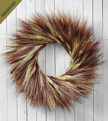 FTD Sunset Wheat Dried & Preserved Wreath (dobdeals.com) Tags: flowers wreaths eventsupplies