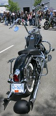 Samson pipes (D70) Tags: show canada vancouver bc motorcycles trev deeley shorenswine