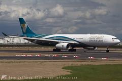 A4O-DB A330-300 Oman Air (JaffaPix +3 million views-thank you.) Tags: airplane flying frankfurt aircraft aviation flight aeroplane 330 airline airbus oma a330 fra wy frankfurtairport a333 eddf a330300 omanair a4odb jaffapix davejefferys