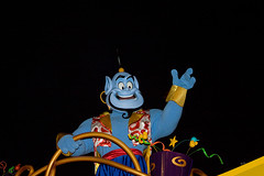 IMG_5686 (onnawufei) Tags: disney parade disneyworld wdw aladdin waltdisneyworld magickingdom genie thegenie