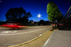 big bright star! (PJC Photography) Tags: streets canon bokeh streetlights rokinon rokinon8mm canont3i