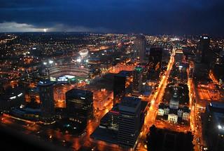 Lightning Over St Louis