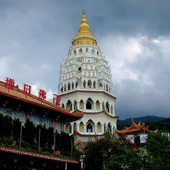 Kek Lok Si temple in Penang, Malaysia (PeterCH51) Tags: malaysia penang kekloksitemple chinese temple chinesetemple airitam airhitam culture religion pagoda peterch51 buddhism square squareformat explored mywinners flickrtravelaward earthasia inexplore explore