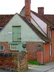 Kersey, Suffolk (teresue) Tags: uk greatbritain england suffolk unitedkingdom eastanglia kersey 2013 babergh doorgoingnowhere