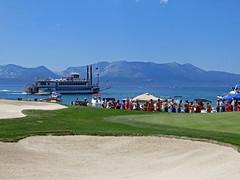 Edgewood Tahoe (benjaminfish) Tags: celebrity beach century golf nevada july tahoe tournament american edgewood 2013