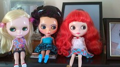 Paige, blythe and gloria.