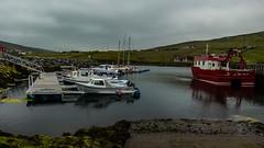 voe_17 (Alph Thomas) Tags: light nature landscape boats scotland landscapes harbour shetland harbours voe