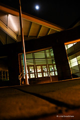 night-building-moon.jpg (r.nial.bradshaw) Tags: nightphotography night photo nikon image creativecommons stockphoto stockphotography royaltyfree attributionlicense manualexposure 2013 nikond40 1870mmafs lightroom4 rnialbradshaw
