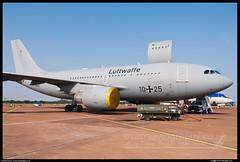 German A-310 MRTT (evansaviography) Tags: germany sunday airshow airbus static raf fairford luftwaffe riat royalinternationalairtattoo a310 2013 mrtt