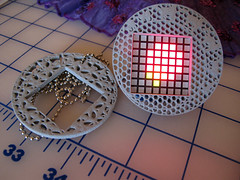 3D printed frames for my EEG Visualising Pendant (Rain Rabbit) Tags: mobile design 3d technology tech jewelry wearables jewellery computing eeg wearable printed emotive pendant brainwaves mindwave electroencephalography visualising emotivewearables eegpendant eegjewellery eegwearabletechnology eegwearables