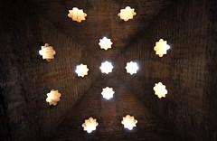Alhambra Stars (Pikaluk) Tags: sky stone stars spain ceiling espana alhambra granada 2013