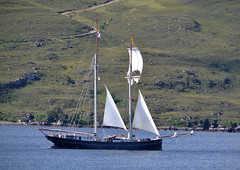 22-08-13 007 (Strathkanchris) Tags: cruise scotland ullapool westerross sailingboat rhue wyldeswan