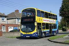 GT90 gleaming in Glasnevin Park (D464-Darren Hall) Tags: gemini glasnevin dublinbus gt90 wrightbus busathacliath volvob9tl transportforireland 132d1725