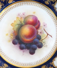 Sometimes Beauty Can Be Handed to You On a Plate! (antonychammond) Tags: china fruit plate grapes peaches soe supershot colourartaward colorfullaward