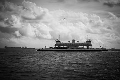 Ferry Photography, No. 32 (jonburns820) Tags: texasgulfcoast galvestontx bolivarroads galvestonportbolivarferry ferryphotography september2013 galvestoncountytx