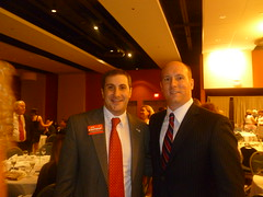 Chairman Nelson Diaz with Joe Kaufman at Lincoln Day Gala Miami-Dade