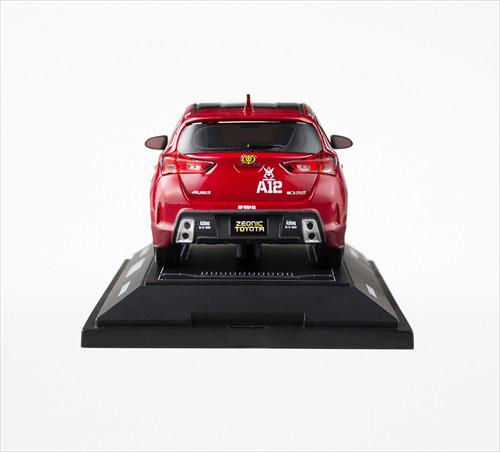 夏亞專用AURIS 1/30 比例模型車 以及周邊商品開始販售!