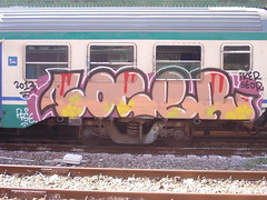 Immagine 075 (en-ri) Tags: train writing graffiti genova piazza iker principe 2013 loger seor pfse
