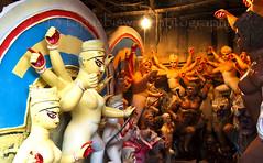 DSC_0056 (Tapas Biswas) Tags: art festival artistic goddess culture bengal cultural idols durga durgapuja westbengal hindugod indianculture hindugoddess durgafestival kumortuli clayidols bengalfestival durgapuja2013