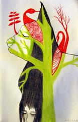 Lluvia de gatos (Felipe Smides) Tags: dibujo galeano smides felipesmides