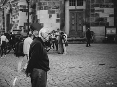 why not just stand there (tinto) Tags: street man dresden streetphotography streetportrait fujifilm streetphoto frauenkirche x10 vsco fujix10 vscofilm