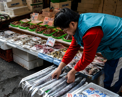 The Fishmonger of Ameya-Yokocho