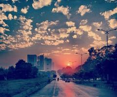 Islamabad (maha.kamran1) Tags: pakistan sunset beautiful sunrise islamabad flickrandroidapp:filter=none