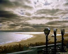 Lighthouse Beach Outlook (bronwyn.sill) Tags: storm beach clouds sand capecod lookout 4x5 viewcamera lighthousebeach
