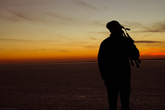 silhouettes and sunsets (Mark Daniel Photography) Tags: new winter sky sun cold ice clouds outside outdoors bay frozen seaside tripod silhouettes tags more stuff jersey about heights sets