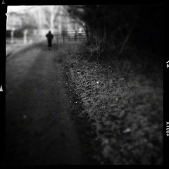 run (Jon Downs) Tags: uk white black art monochrome downs photography mono photo jon flickr artist photographer image path 5 picture pic running run photograph jogging jog iphone iphone5 hipstamatic jondowns oggl