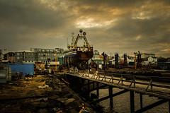 Slippurinn in the old harbor in Reykjavik (Dagur Jonsson) Tags: canon harbor boat iceland ship harbour reykjavik supershot anawesomeshot aplusphoto flickrdiamond pubflickr