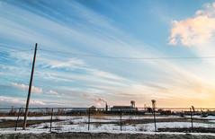 MIKE3871-sunset-smokestack- (Michael William Thomas) Tags: winter sunset ny newyork cold color buffalo urbex mikethomas michaelthomas mtphoto cmndrfoggy sunsmoke michaelwthomas