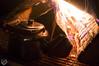 Making some tea شاهي على الجمر (Qunaieer) Tags: wood fire tea شبة نار ضو حطب شاهي