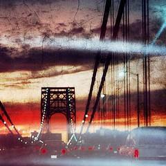 Homeward Bound (2bmolar) Tags: nyc bridge sunset sliderssunday