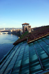 Verona (smnorthrunner) Tags: roof italy tower river rooftops verona adige