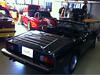 03 Jensen Healey mit optimiertem Verdeckbezug von CK Cabrio Detail Montage gs 03