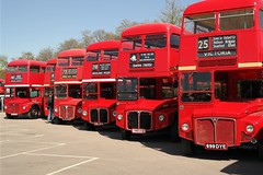 image042 (redbuslondon) Tags: routemaster brooklands rm rml3 rt75 slt58 rm848 springgathering jjd504d 699dye cuv232c londonbusmuseum rm1033 dsl540 rm1699 rml2504 448uxs rml2232
