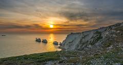 Needles Sunset (benboy80) Tags: sunset sea sun nikon cliffs tokina needles isle wight d610 1628