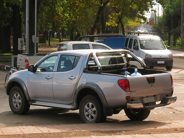 pickup did l200 mitsubishi triton pickuptrucks camionetas workcr