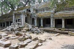 P1010926_DxO (SchoonbrodtB) Tags: lumix cambodge cambodia kambodscha angkor taprohm 2014 柬埔寨 camboya カンボジア lx7 캄보디아 كمبوديا